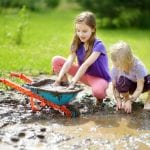 Kids and dirt