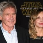 Harrison Ford with Calista Flockhart in 2015