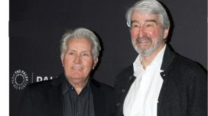 """Martin Sheen, Sam Waterston at the PaleyFest - """"Grace and Frankie"""" Event at the Dolby Theater in 2019 in Los Angeles"""