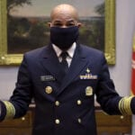 Surgeon General demos how to make your own face mask