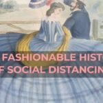 How Fashion Promoted Social Distancing