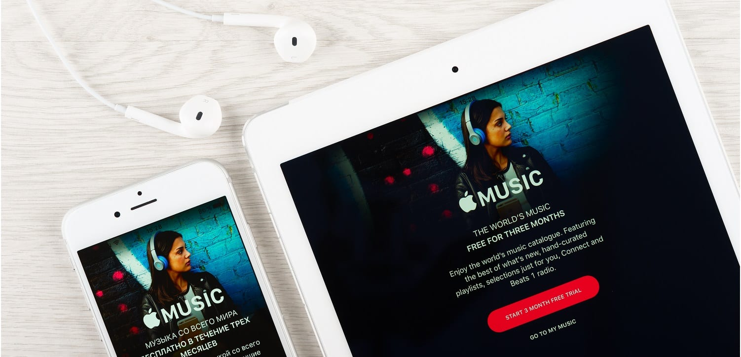 Apple Music 90-day free trial - Shutterstock Photo