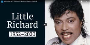 Little Richard obituary posted by legacy.com