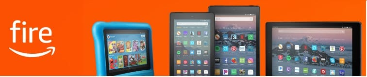 Amazon Fire Tablet on sale