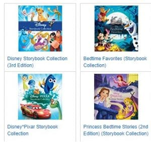 Disney Story Books on sale