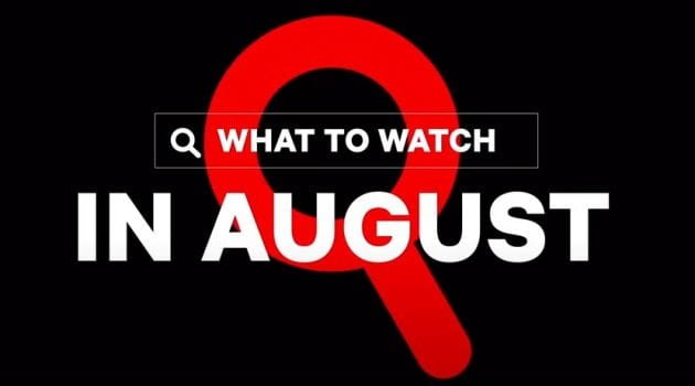 Whats new in August 2020 on Neflix
