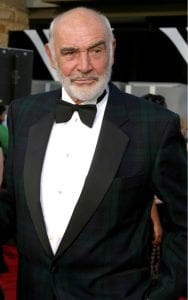 Sean Connery in 2007