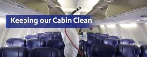 Sanitation and cleaning at Southwest