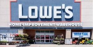 Sale at Lowes Home Improvement