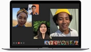 Group FaceTime on a Mac