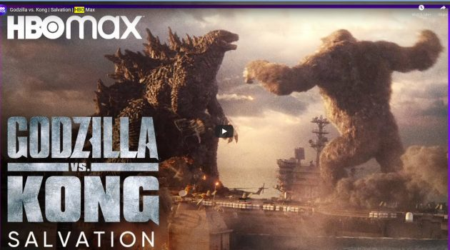 Godzilla v Kong on HBO Max
