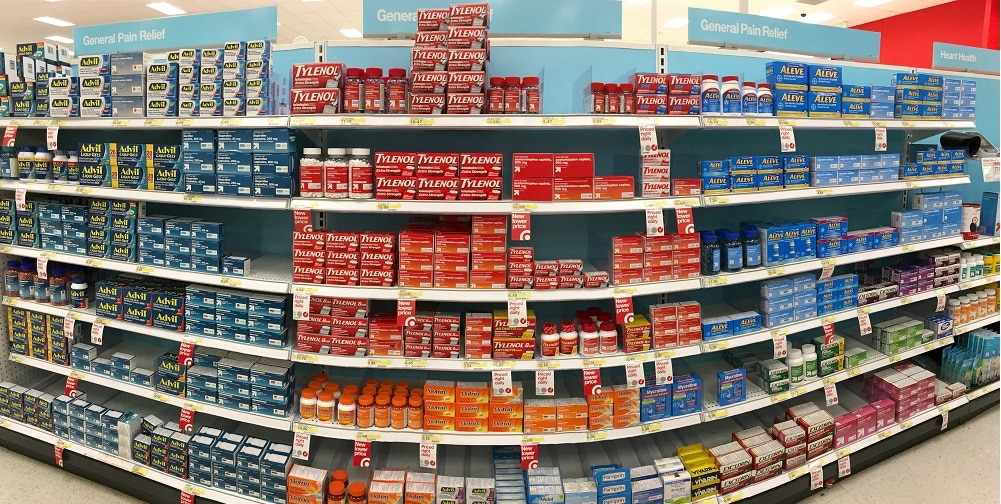 Over the counter pain medications