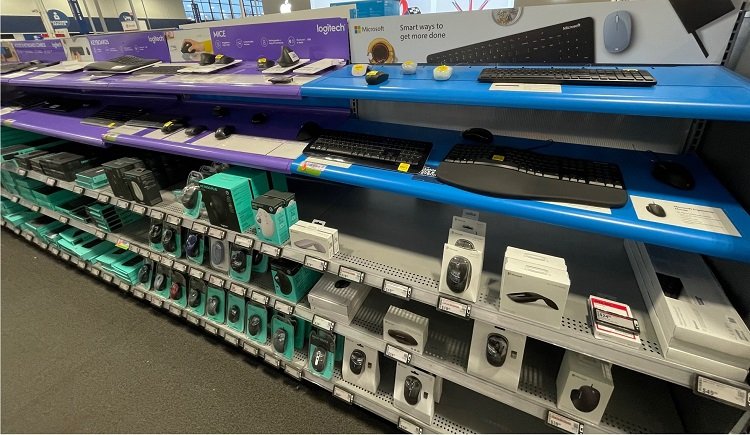 Mice and keyboards at Best Buy