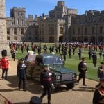 Funeral procession for Prince Philip at Windsor