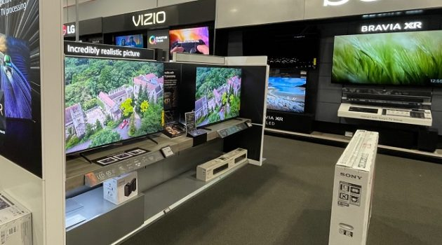 TV Sale at Best Buy (Senior Daily Photo)