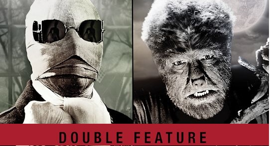 Invisible Man, Wolf Man double feature
